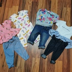 Other - Baby girl outfit bundle.